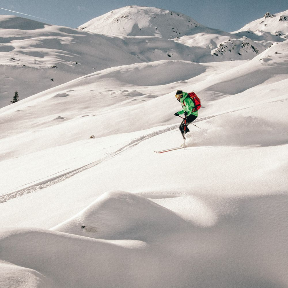 Freeriding in Austria © Salzburger Land Tourismus