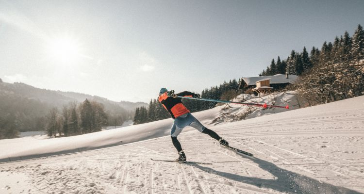 Cross country skiing in Salzburger Land © Salzburger Land Tourismus