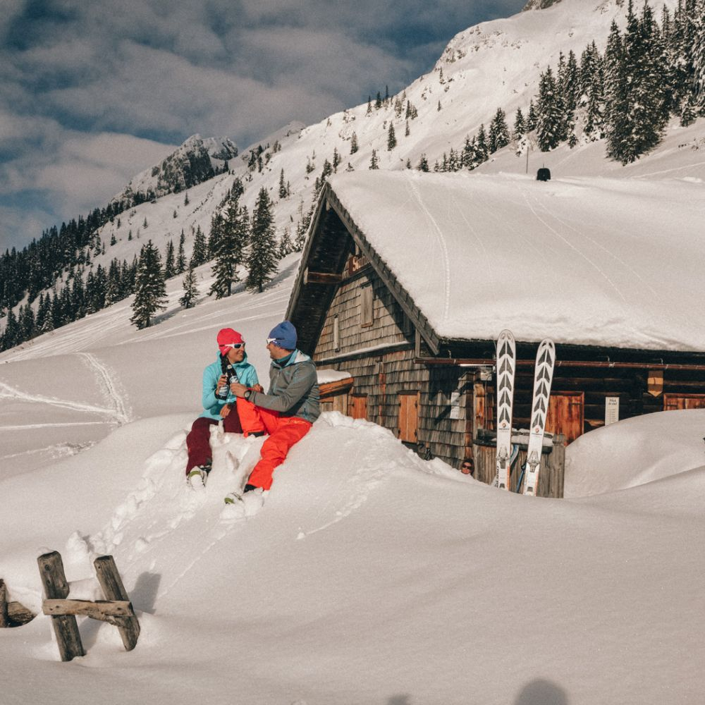 Skitouring in your holiday at the Liftplatzl © Salzburger Land Tourismus